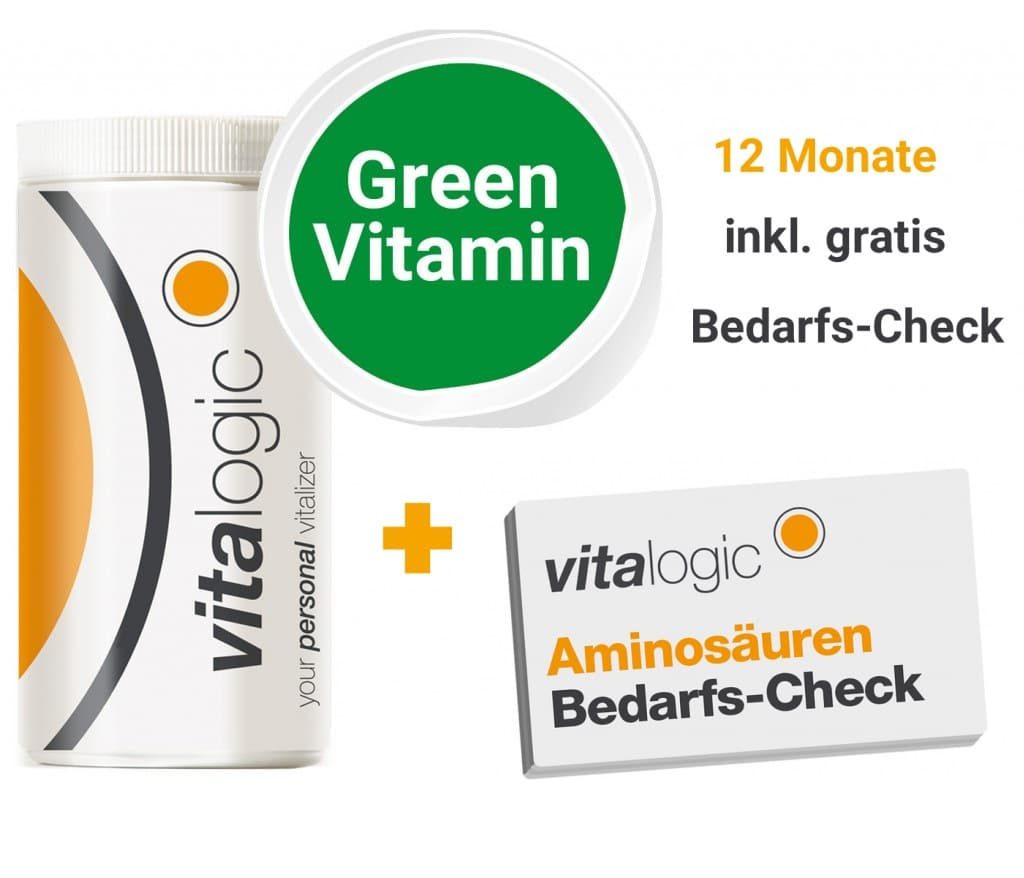Special Edition Vitalogic Green Vitamin Jahrespaket